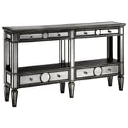 Stein World Cosmopolitan Sleek Narrow Mirrored Console Table