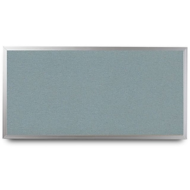 Everwhite Wide Aluminum Framed Cork Wall Mounted Bulletin Board; 4' H x 12' W