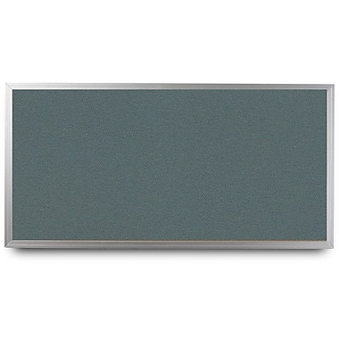 Everwhite Wide Aluminum Framed Cork Wall Mounted Bulletin Board; 4' H x 6' W