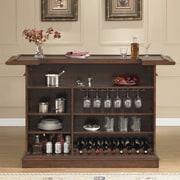 American Heritage Valore Bar w/ Wine Storage; Brown