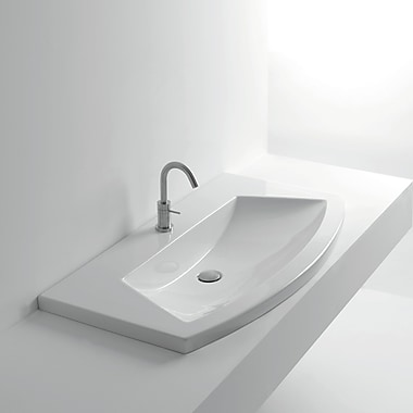 WS Bath Collections Whitestone Specialty Vessel Bathroom Sink