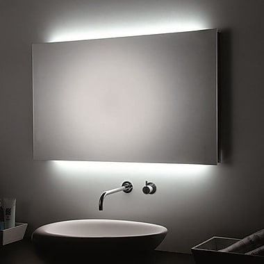 WS Bath Collections LED Wall Bathroom Mirror; 31.5'' H x 47.2'' W x 1.5'' D