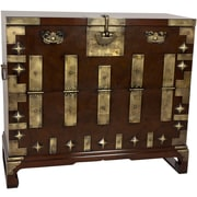 Oriental Furniture Korean Bandaji Blanket Chest