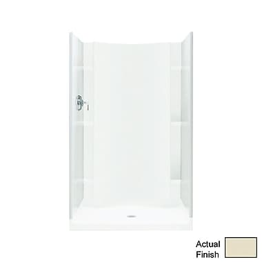 Sterling by Kohler Accord 1-Piece 36'' x 36'' x 77'' End Wall; Biscuit