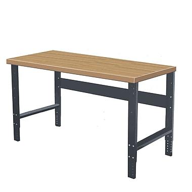 Hallowell Wood Top Workbench; 60'' W x 30'' D