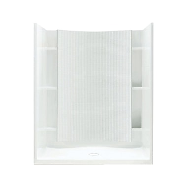 Sterling by Kohler Accord 48'' Shower Kit w/ Age-in-Place Backers; High Gloss White