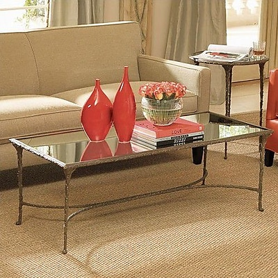 Global Views Enjoy a Drink in Style Organic Coffee Table