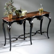 Butler Wentworth Console Table; Cafe Noir
