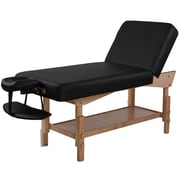 SierraComfort Adjustable Back Rest Stationary Massage Table