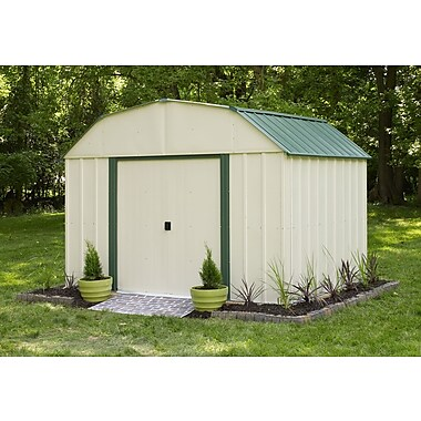 Arrow Sheridan 10 ft. 3 in. W x 7 ft. 11 in. D Metal Storage Shed