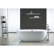Ove Decors Serenity 71'' x 34'' Acrylic Freestanding Bathtub