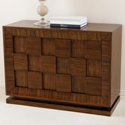 Global Views Draw Attention Accent Cabinet
