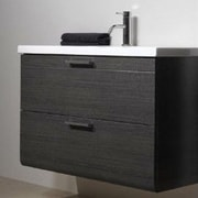 Iotti by Nameeks Luna 38'' Bathroom Vanity Base; Gray Oak