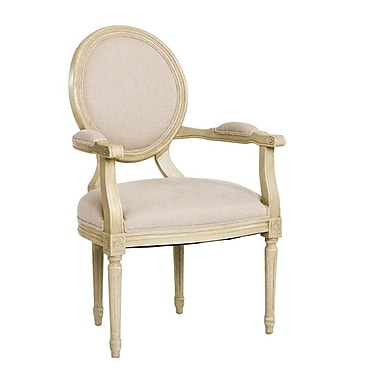 Zentique Medallion Upholstered Dining Chair