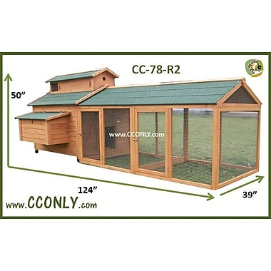 CC Only Chicken Coop w/ Chicken Run