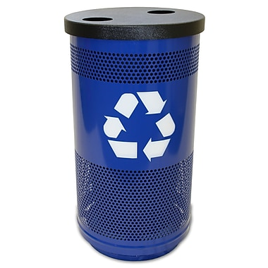 Witt Stadium Series 35 Gallon Recycling Bin