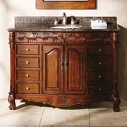 James Martin Furniture Classico 48'' Single Cherry Bathroom Vanity Set