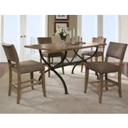 Hillsdale Charleston 5 Piece Counter Height Dining Set