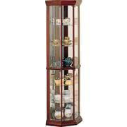 Wildon Home   Benton City Corner Curio Cabinet
