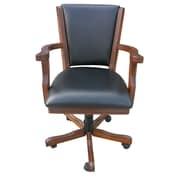 Hathaway Games Kingston Poker Arm Chair (Set of 4); Walnut