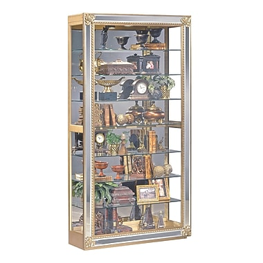 Philip Reinisch Co. Reflection Lighted Curio Cabinet