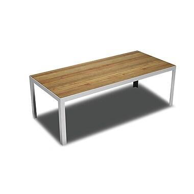 B&T Design Elusive Dining Table; Walnut