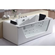 Alfi Brand Eago 70.88'' x 35.38'' Air/Whirlpool Bathtub