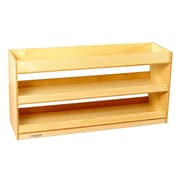 Childcraft Open 3 Compartment Shelving Unit