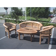 D-Art Collection Island 4 Piece Seating Group