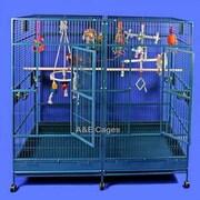 A&E Cage Co. Enormous Double Macaw Bird Cage