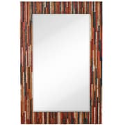 Majestic Mirror Oversized Colorful Mixed Media Mirror