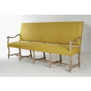Zentique Inc. Veronike Silk Fabric Bench
