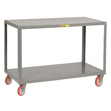 Little Giant USA 24'' x 48'' 2-Shelf Utility Cart