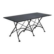 Furniture Designhouse European Caf  Folding Table; Satin/Half-matte