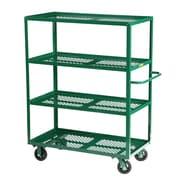 Little Giant USA 24'' x 53.5'' Multi-Shelf Steel Utility Cart