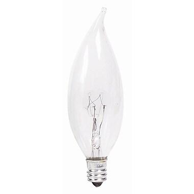 Philips Incandescent Light Bulb, 25 Watt, 2700K, BA9, 12 Pack (168062)