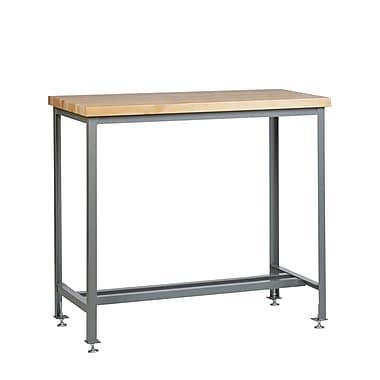 Little Giant USA Adjustable Height Butcher Block Top Workbench; 42'' H x 48'' W x 24'' D