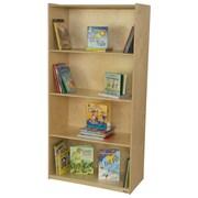 Wood Designs Multi-Purpose 4 Compartment Book Display