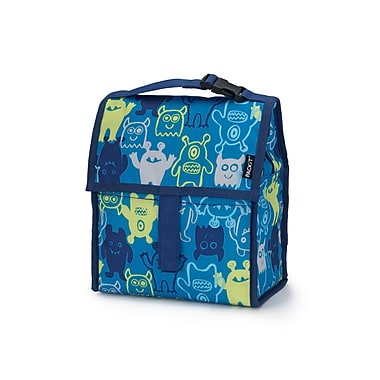 PACKiT Freezable Lunch Bag, Monsters 2.0 (PKT-PC-MNS)