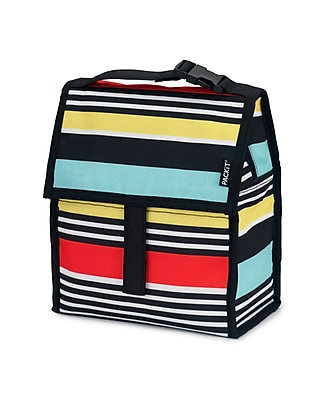 PACKiT Freezable Lunch Bag, Surf Stripe (PKT-PC-SSP)