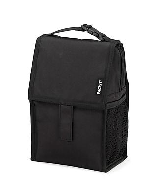 PACKiT Freezable Baby Bottle Bag, Black (PKT-BB-BLA)