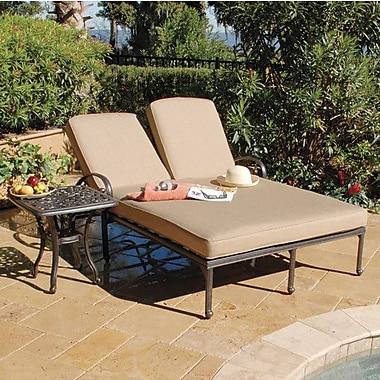 Art Frame Direct Maravilla Double Chaise Lounge w/ Cushions