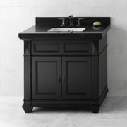 Ronbow Torino 36'' Bathroom Vanity Cabinet Base in Antique Black