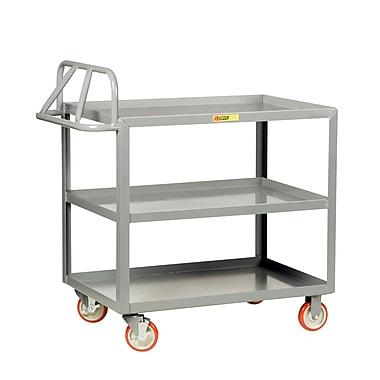 Little Giant USA 30'' x 53.5'' 3 Shelf Ergonomic Utility Cart