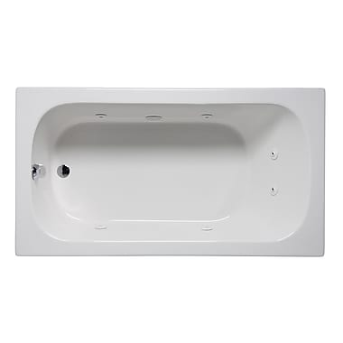 Americh Miro 66'' x 30'' Drop in Whirlpool Bathtub; Almond