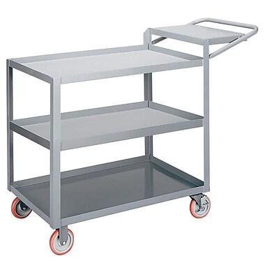 Little Giant USA 24'' x 52'' 3-Shelf Utility Cart w/ Writing Shelf