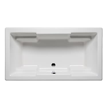 Americh Quantum 60'' x 42'' Drop in Soaking Bathtub; White