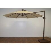 Shade Trend 11' Cantilever Umbrella; Antique Beige