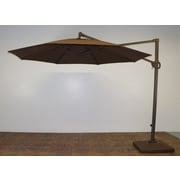 Shade Trend 11' Cantilever Umbrella; Kona Brown