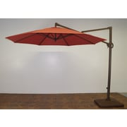 Shade Trend 11' Cantilever Umbrella; Paprika Main